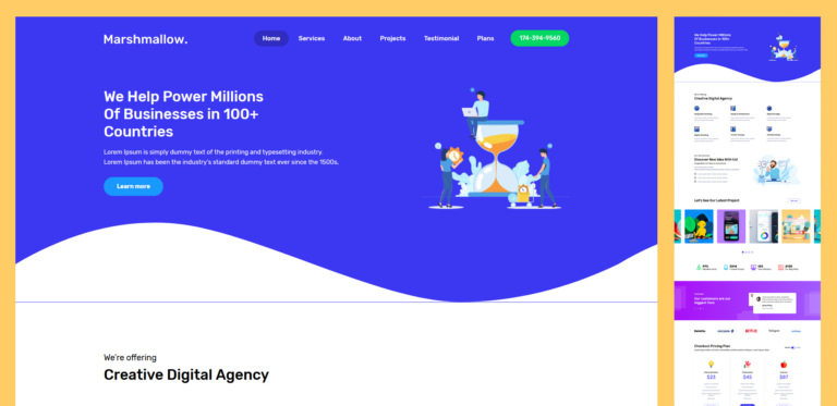 50 Free Best Landing Page Templates - App, eCommerce, Education, Coming Soon And More