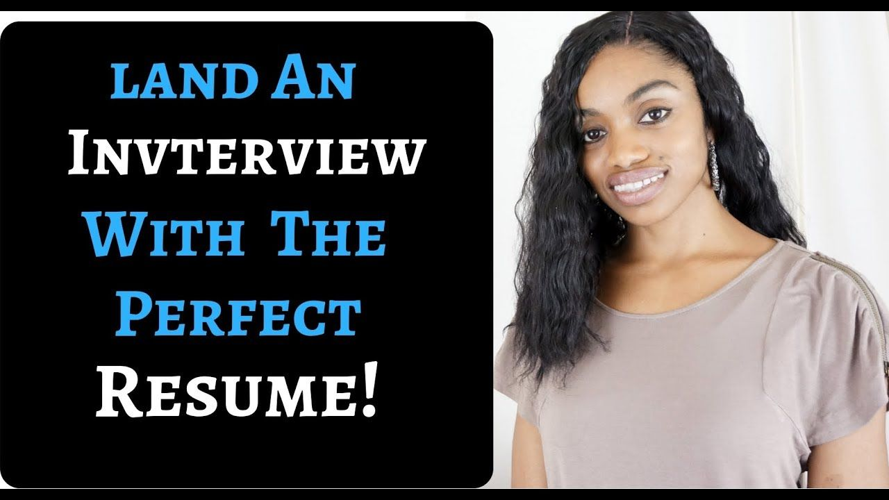 Land an interview and get the job expert resume writing