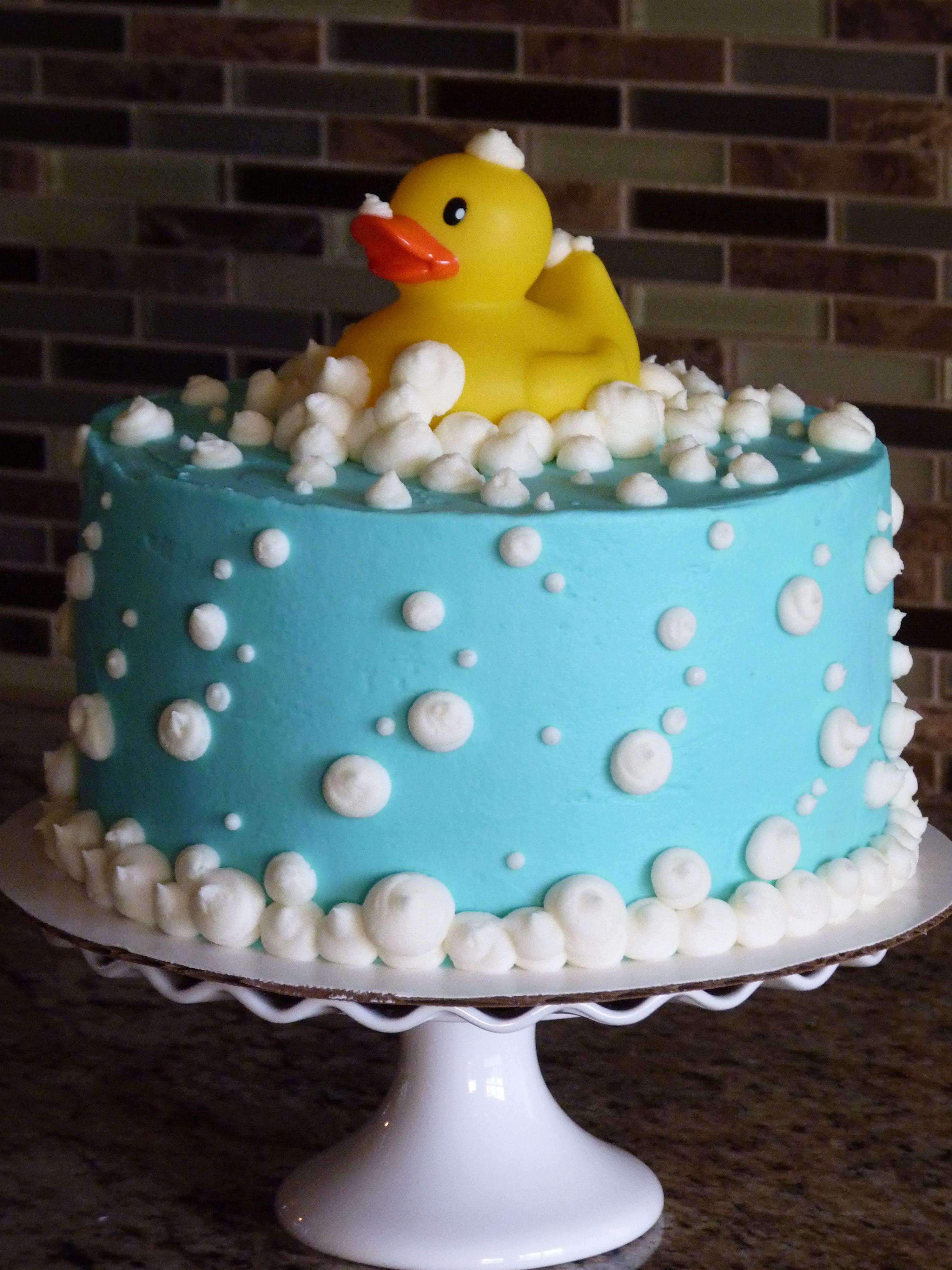 Fabulous Rubber Ducky Cake Mimissweetcakesnbakes Rubberduckycake Funny Birthday Cards Online Elaedamsfinfo