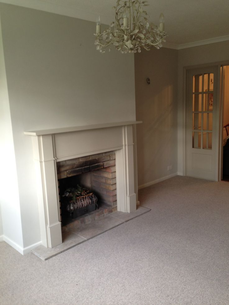 Modern Country Style Farrow And Ball Shaded White Colour