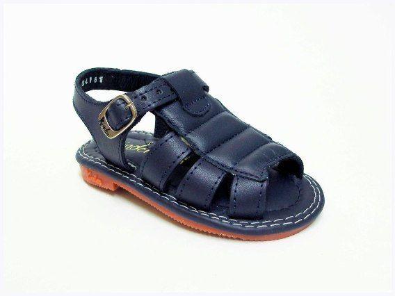 90c925e7 Huaraches Marca Kinder Azul Marino Modelo 6045   ZAPATOS   Zapatos ...