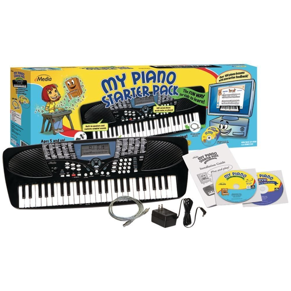 EMedia Music EK My Piano Starter Pack for Kids keyboardlessons