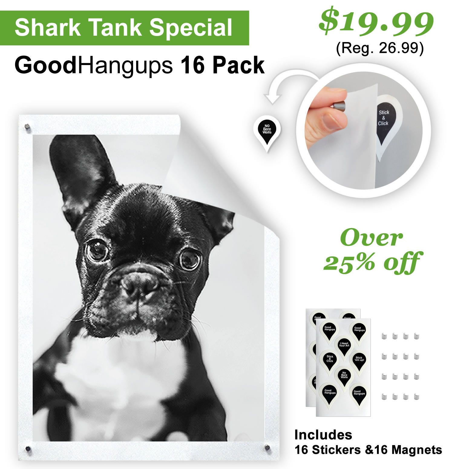 Goodhangups turn your walls into boards hanging