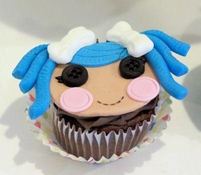 La La lopsy Cupcakes By JeffsCreativeConfections on CakeCentral.com