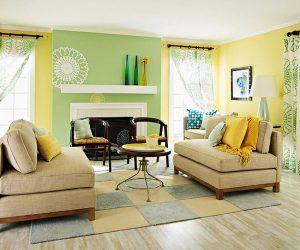 Decoracion De Sala Amarillo Y Verde Colores Para Sala Comedor Colores Para Sala Decoracion De Interiores