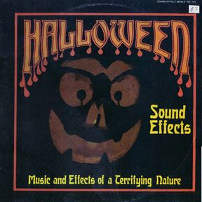 "Scar Stuff: Halloween Sound Effects - Jane Gipps and Ralph Harding ""Music And Effects Of A Terrifying Nature"" (Total Records, TRC931,1982)"