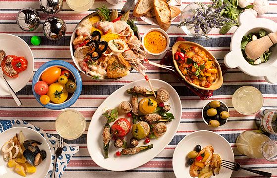 Traditional french fare from provence as seen on - French provincial cuisine ...
