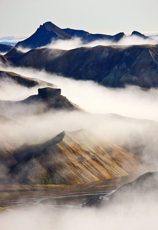 Jökulgil in Landmannalaugar. Photo:Daniel Bergmann #favoriteplaces