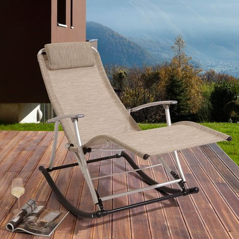 Sun Loungers And Recliners Sun Lounger Rocking Bench Outdoor Chairs