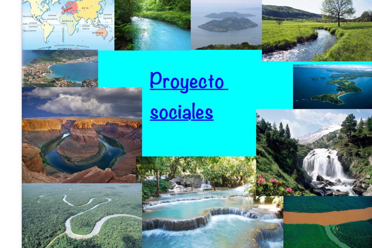 Proyecto 1º ESO: ¡Crea tu propio libro de términos geográficos! con Book Creator