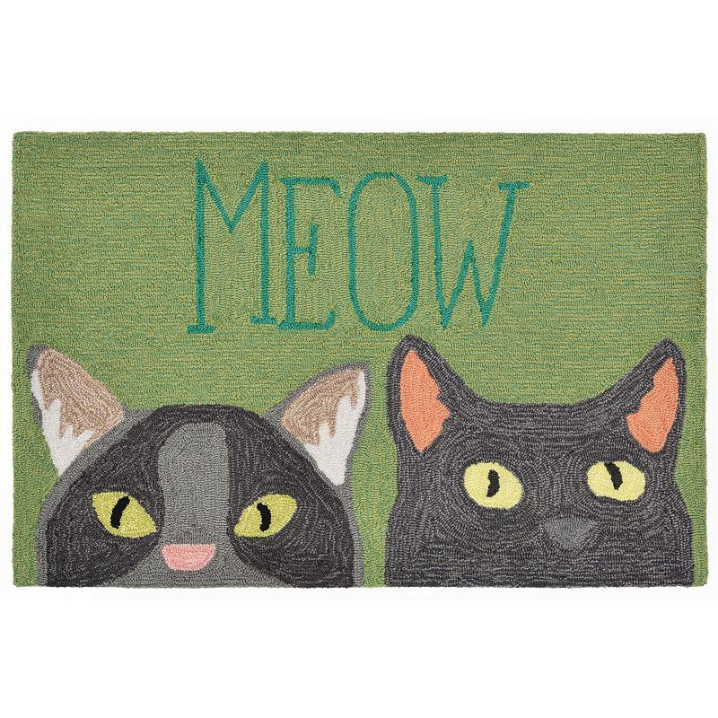 Liora Manne Front Porch Meow Indoor Outdoor Rug Products