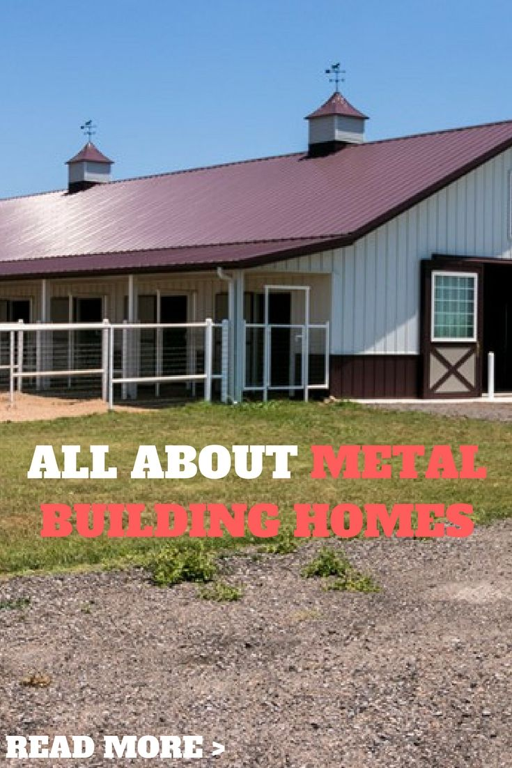 All about metal building homes metal building homes pinterest