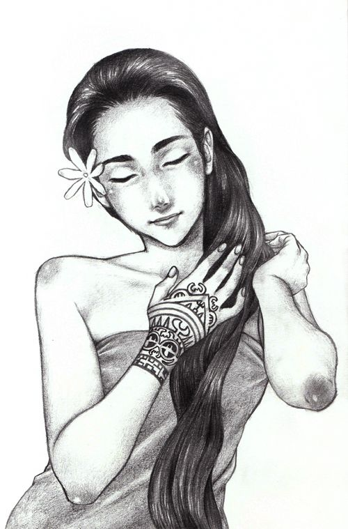 95e547402 Other Polynesian drawings by Sakurajoker | Polynesian Art ...
