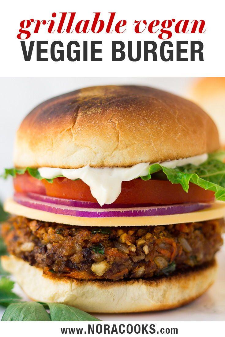 Esta es mi receta vegetariana de hamburguesas veganas y es, con mucho, la MEJOR hamburguesa vegetariana ...