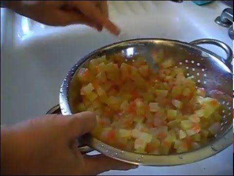 Reteta dulceata de coji de pepene verde - YouTube