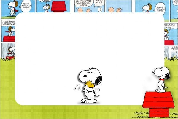 Kit Completo Digital Snoopy | Snoopy, Snoopy party and ...