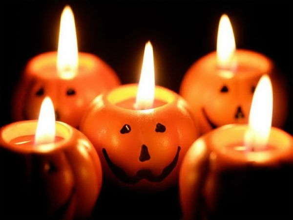 coole halloween deko ideen k rbisse wohnung fest originell kerzen halloween decoration. Black Bedroom Furniture Sets. Home Design Ideas