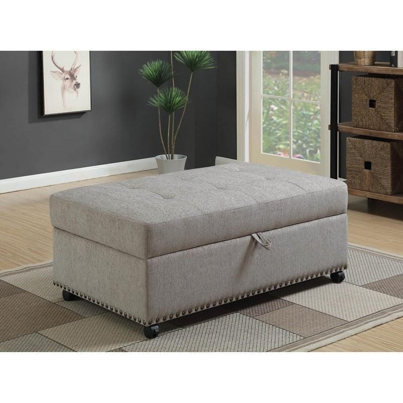 Lit Simple Pouf En Tissu 550338 Coaster Furniture Meubles Loren A Montreal Laval Rive Sud Pouf En Tissu Repose Pieds Pouf Rembourre