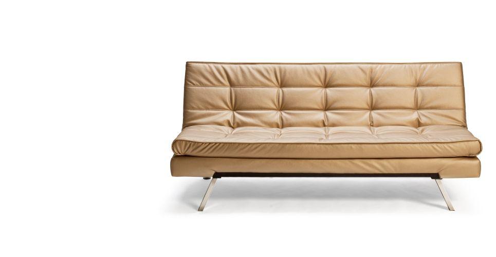 Divano letto Vinci, Oro | made.com | low cost design | Pinterest