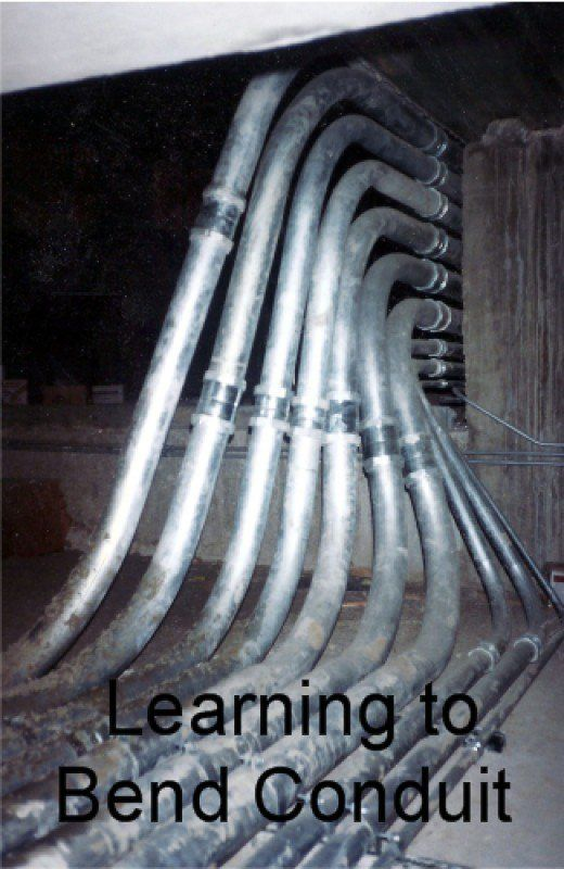 Pipe Bending Instructions An Electrical Conduit Bending