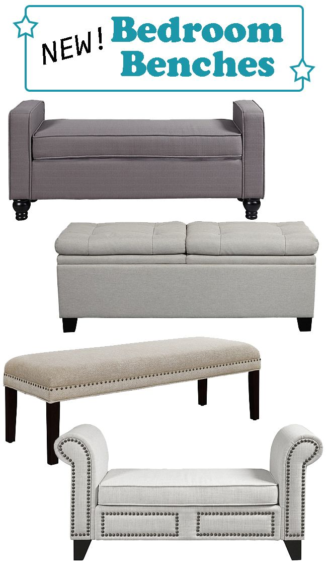 We\'re expanding our selection of bedroom benches so you have many ...