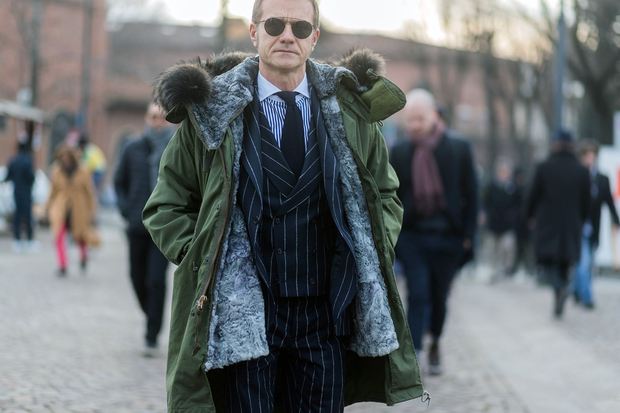 The Best Street Style from Day 1 of Pitti Uomo