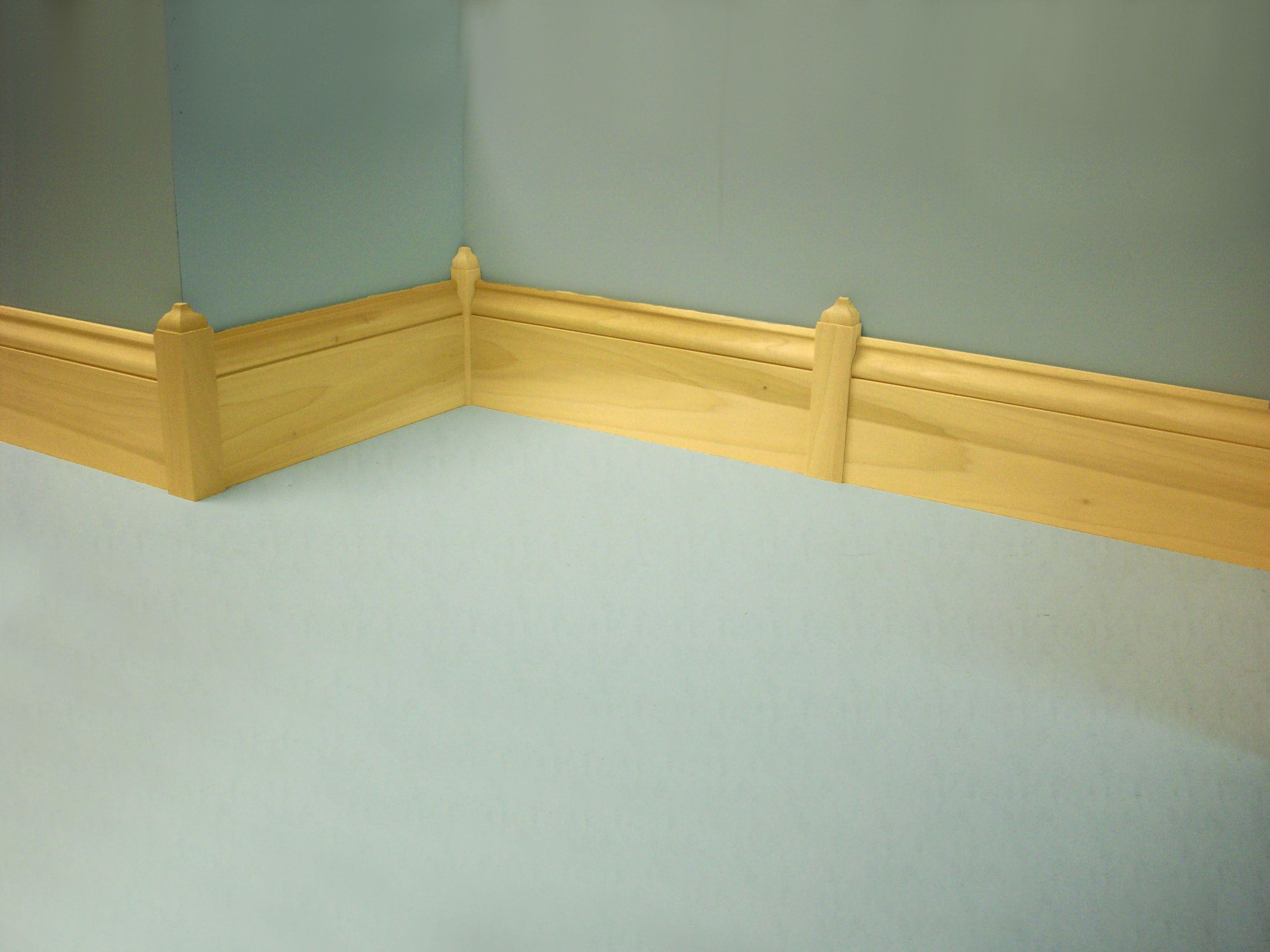 Baseboard corner blocks   Floor   Pinterest   Baseboard ...