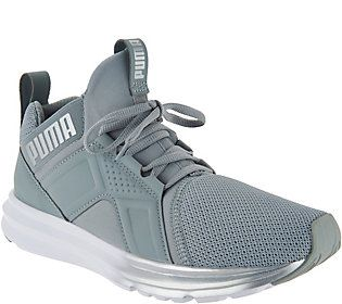 PUMA Mesh Mid Lace up Sneakers Enzo — | Sneakers