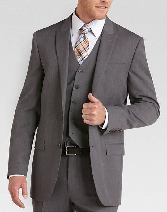 87f089fad Home | wedding | Grey slim fit suit, Men's suit separates, Slim fit ...