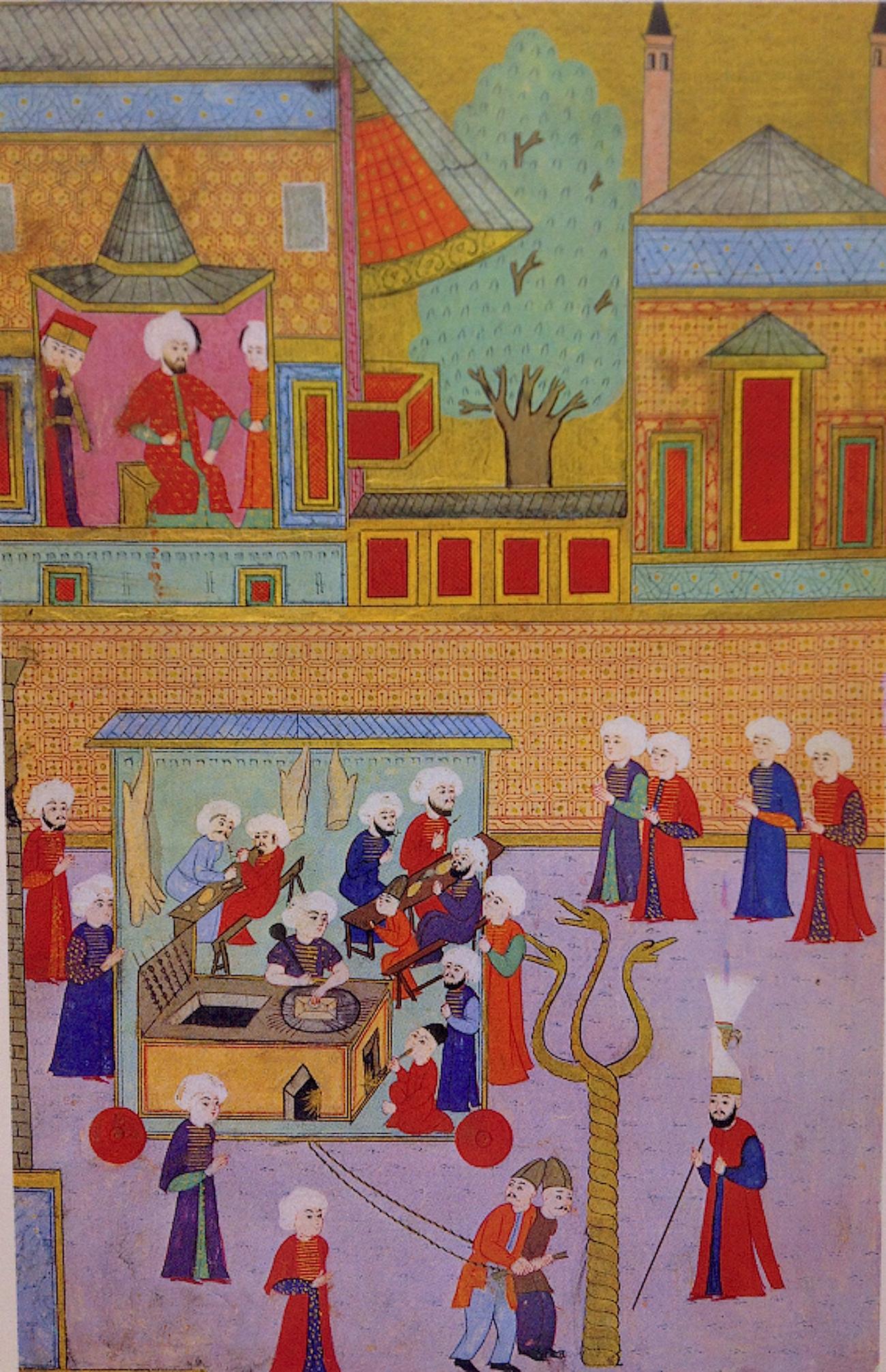 The guild of kebab cooks, Surname-i Hümayun, 1582