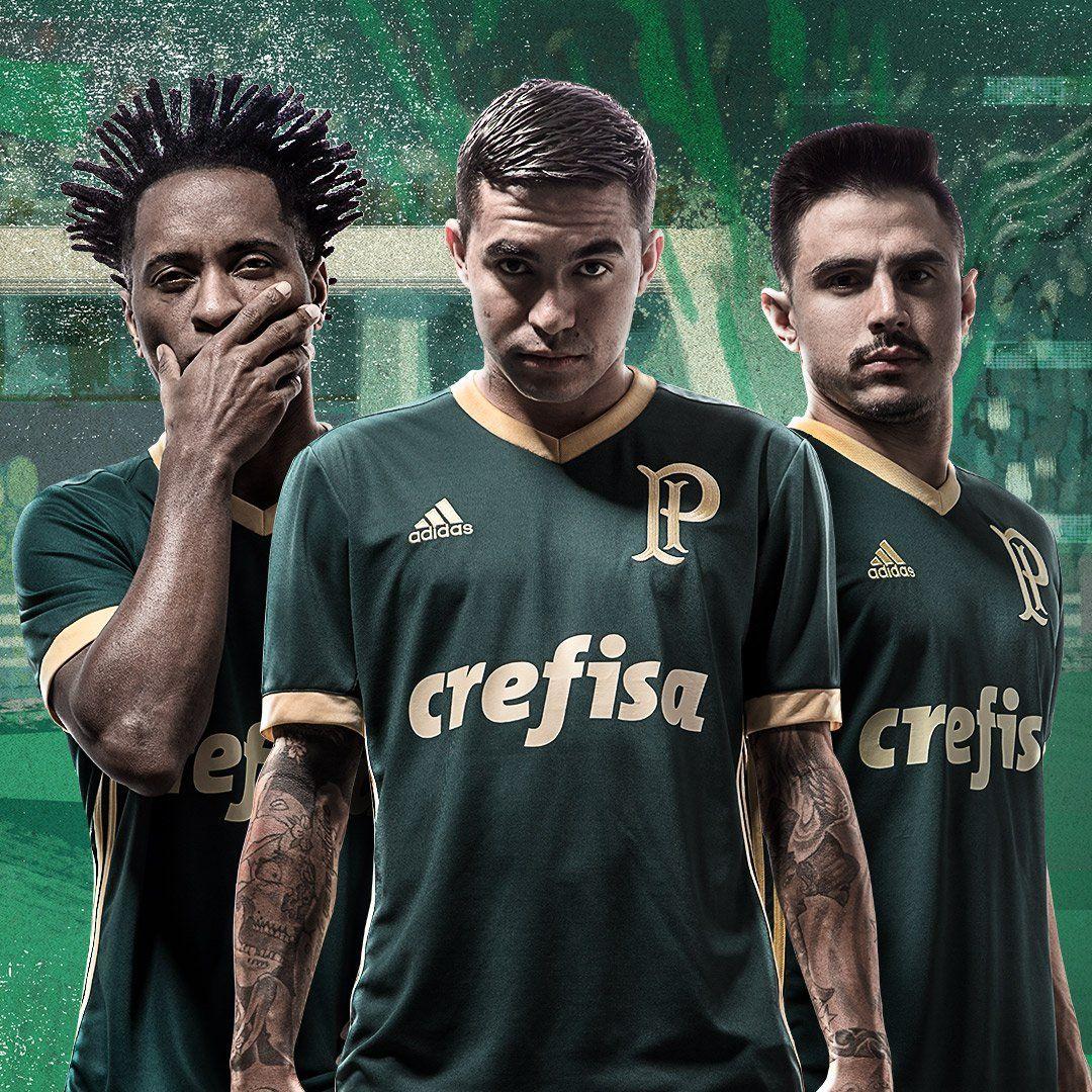 Terceira camisa do Palmeiras 2017-2018 Adidas  ec8567240b25c