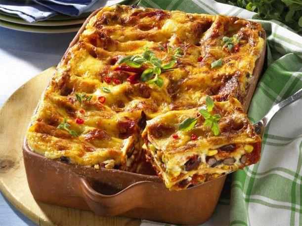 Unser beliebtes Rezept für Lasagne à la Chili con Carne und mehr als 55.000 weitere kostenlose Rezepte auf LECKER.de.