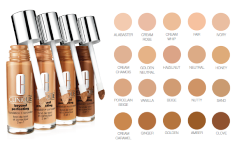 clinique beyond perfecting foundation