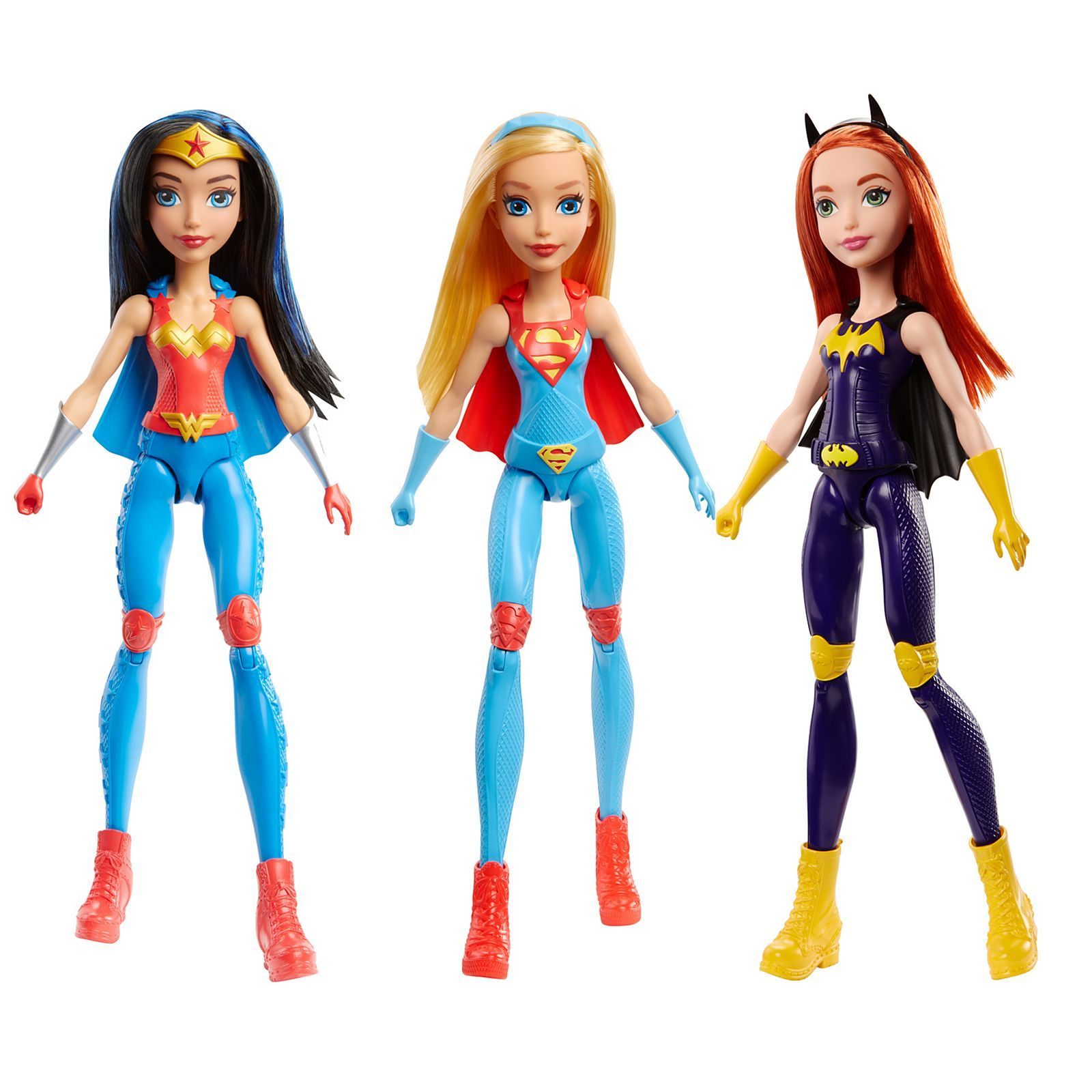 "DC Comics Super Hero Comic Book Supergirl 12/"" Doll Girls Gift Fun Children Toy"