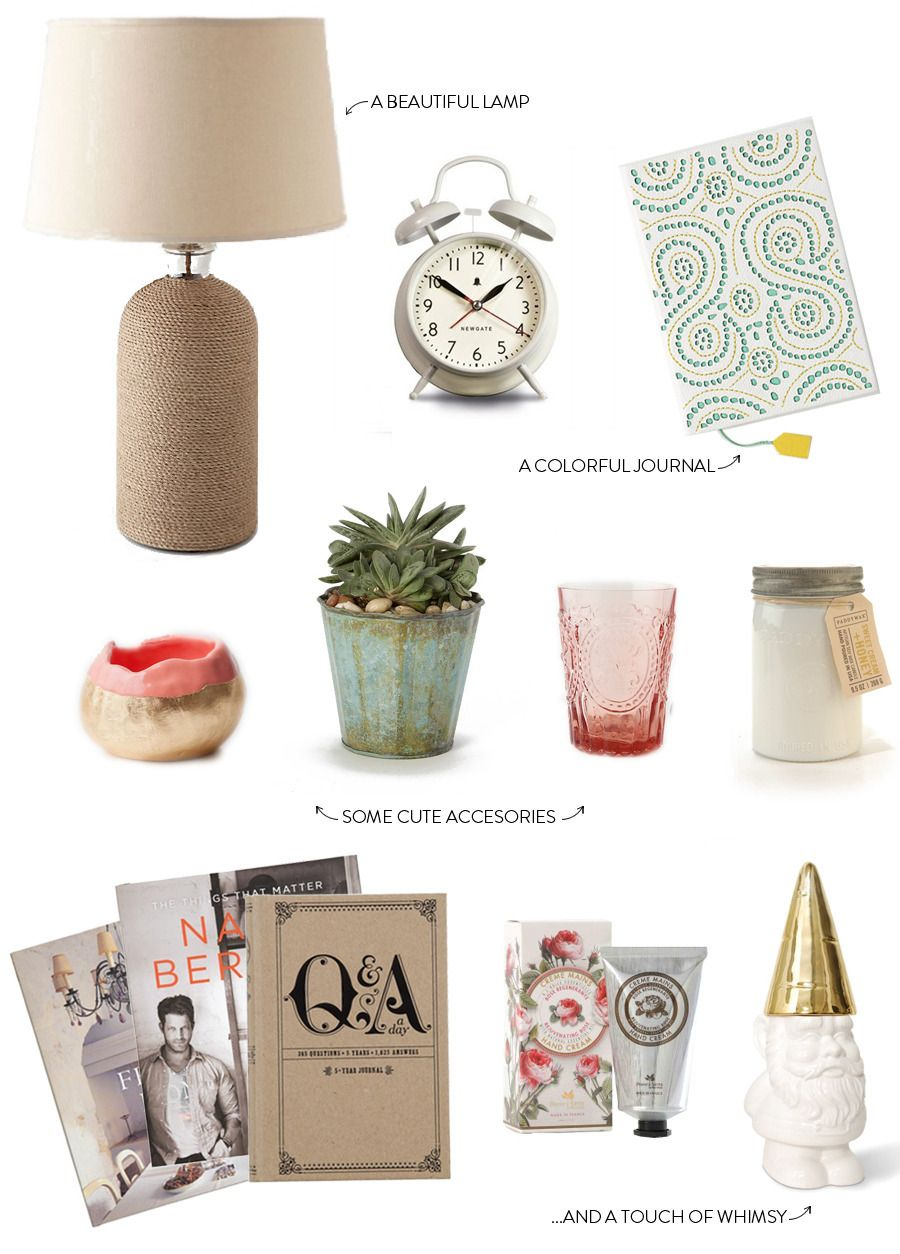a round-up of knick knacks for sprucing up your bedside table in style #smpliving
