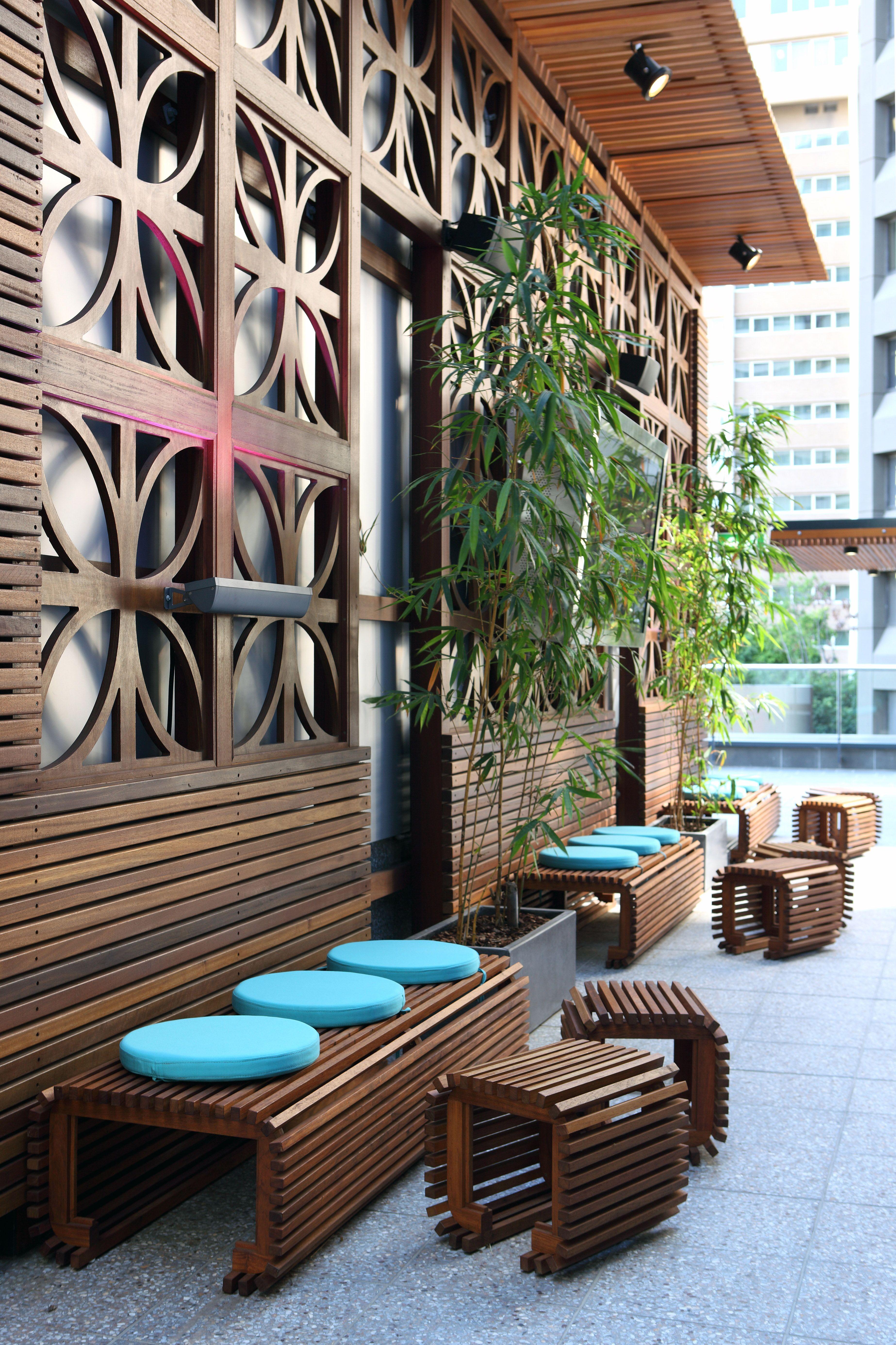 Pdt Architects Telstra Urban Retreat Interior Design Landscape Archit Archit Architects Commercialpodium Design In 2020 Outdoor Decor Design Patio
