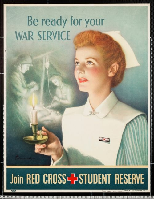 The US military posters   Old Posters   Red cross, Ww2