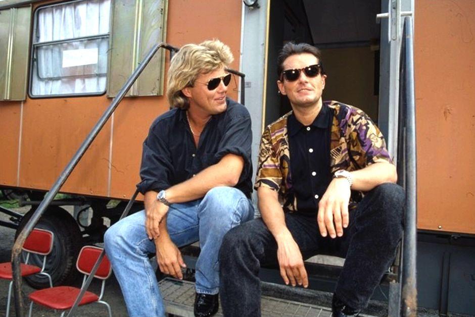Dieter Bohlen And Falco