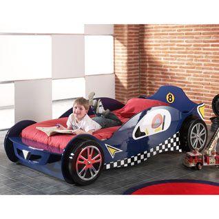 Kids Racing Car Bed Blue Car Bed Kid Beds
