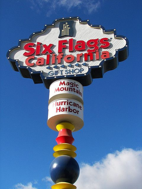 Valencia, CA....Magic Mountain... My favorite amusement park during high school