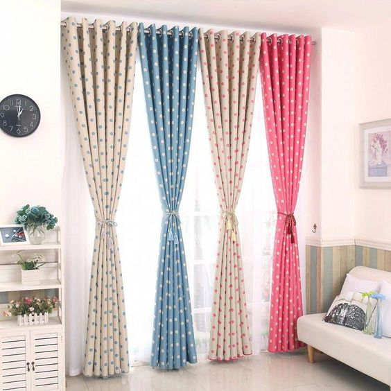 Boston Jacquard Lined Pencil Pleat Curtains In 2020 Pleated