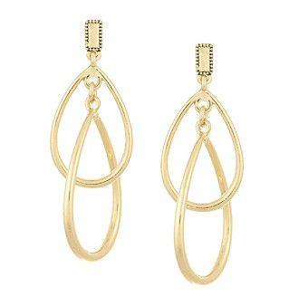 Laundry® Interlocking Drop Earrings