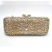 evening crystal clutch, stunning