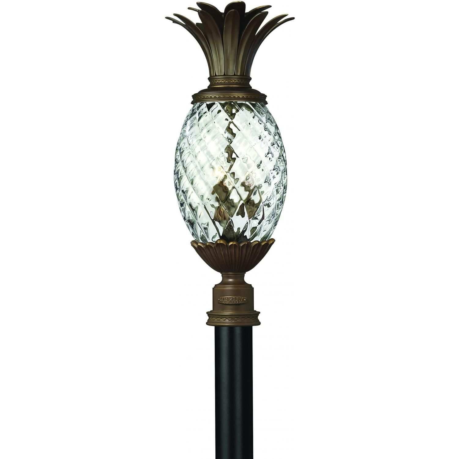Hinkley Lighting Plantation Three Light 25 Outdoor Post Light Copper Bronze 2221cb Products In 2019 Outdoor Post Lights Hinkley Lighting Lanterns