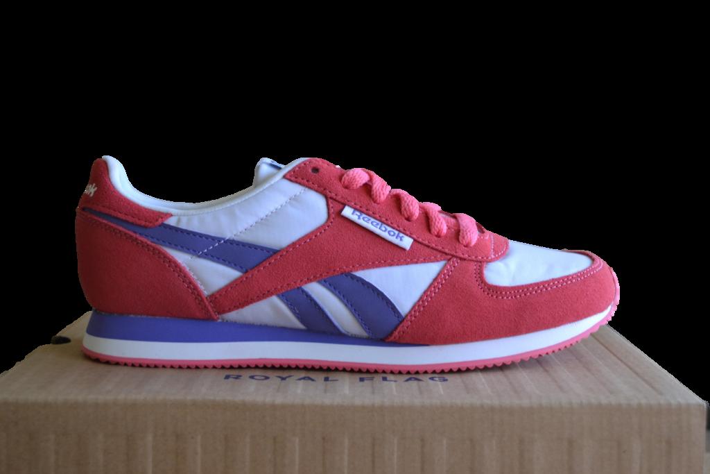 d218877a11490 Reebok Classic Royal CL Jogger Women s Trainers Vivid Pink White Purple  V55914