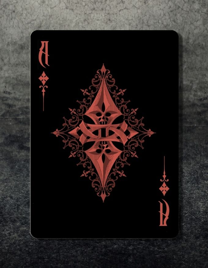 Ace Of Diamonds Original Edition Playing Cards Art Playing
