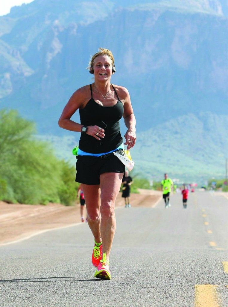 Forget life-threatening accidents—when it comes to one runner, she bounced back and is totally ruling at running.