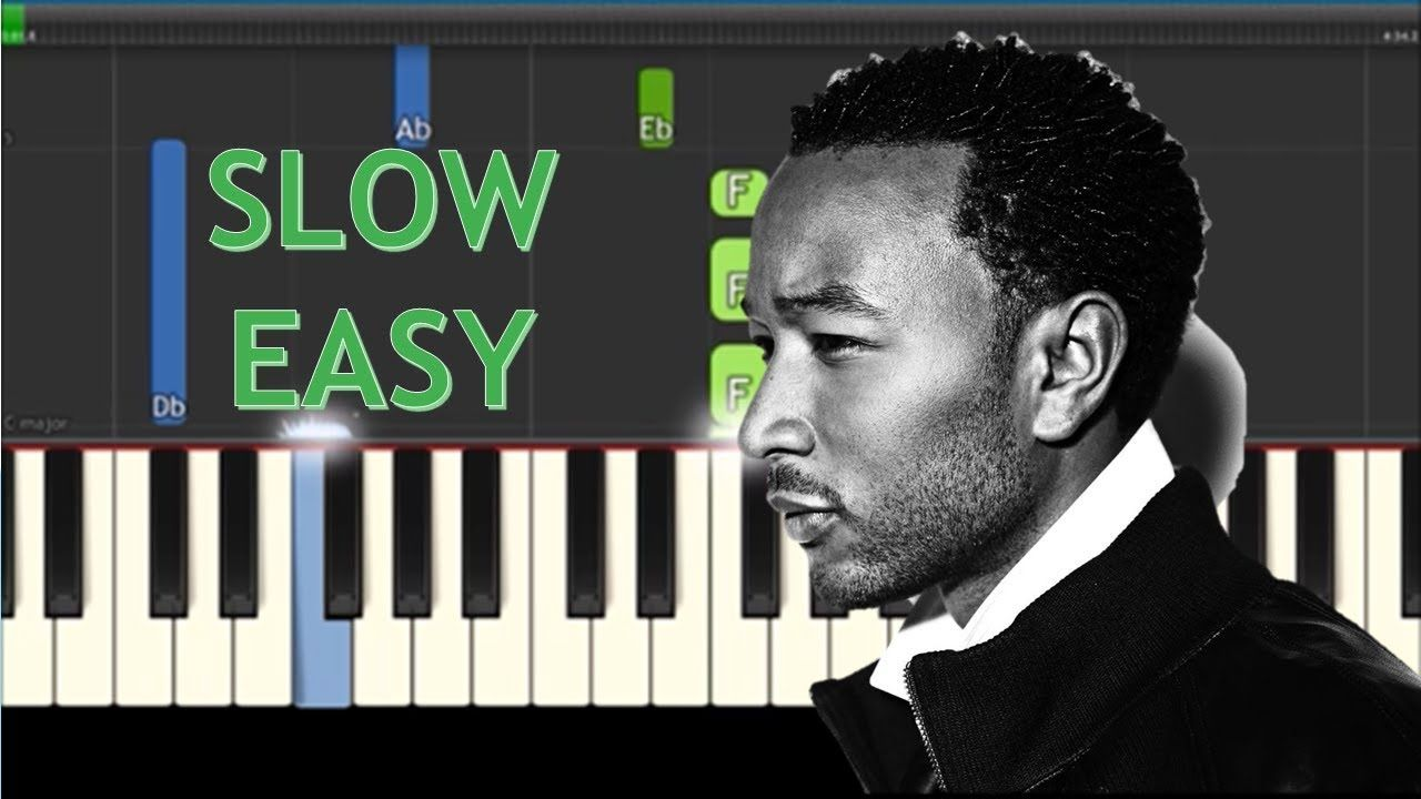 How to play all of me by john legend slow easy piano tutorial how to play all of me by john legend slow easy piano tutorial youtube baditri Image collections