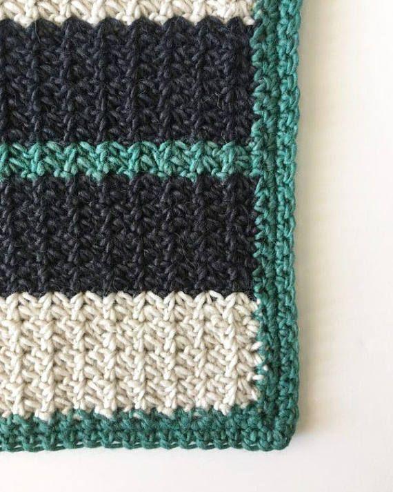 Spider Stitch Crochet Blanket