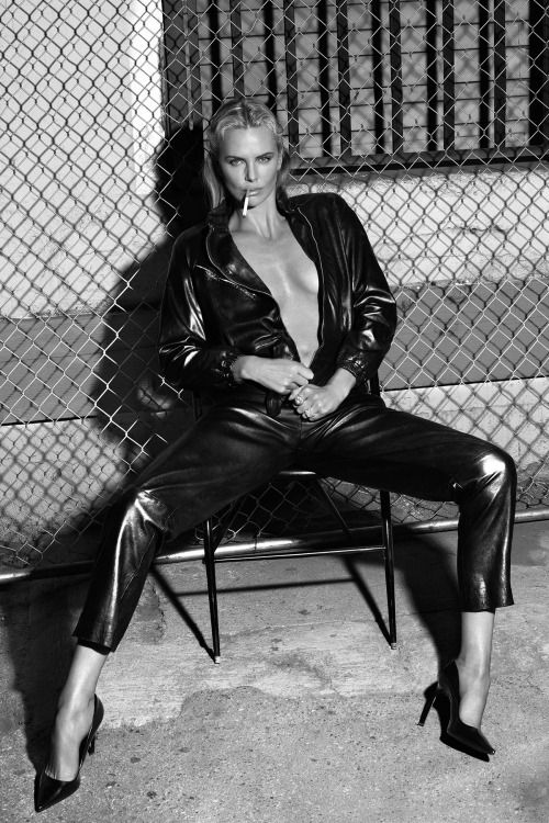 """Charlize Theron by Mert Alas & Marcus Piggott in """"Mad Beautiful"""" for W Magazine, May 2015"""